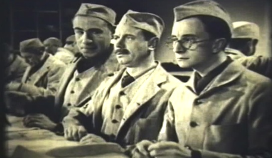 Jailbirds - Charles Farrell as Spike Nelson, Albert Burdon as Bill Smith, and Charles Hawtrey as Nick