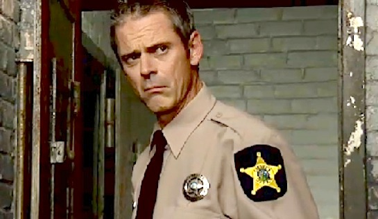 The Jailhouse - C Thomas Howell as Deputy Sheriff Seth Delray