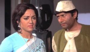 Joshila #3 - Hema Malini as Shalini and Dev Anand as Amar Kumar