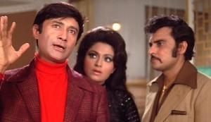 Joshila #5 - Dev Anand as Amar Kumar, Bindu as Rani and Sudhir as Kundan