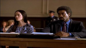 The Killing Yard #2 - Rose McGowan as Linda Bolus and Morris Chestnut as Shango