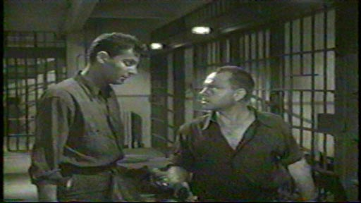The Last Mile (1959) - Clifford Drake as Richard Walters and Mickey Rooney as John 'Killer' Mears