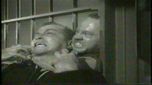 The Last Mile (1959) #3 - 'Killer' Mears (Mickey Rooney) attacks Drake (Donald Barry)