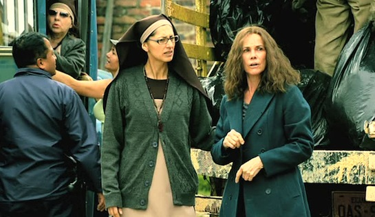 Left to Die - Christina Marchán as Sister Maria and Barbara Hershey as Sandra Chase