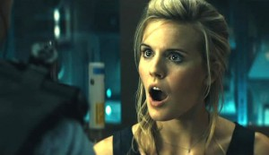 Lockout #3 - Maggie Grace as President's daughter Emilie Warnock