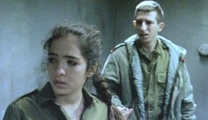 The Loners #3 - Rotem Zussman as Welfare Officer Ilanit and Anton Ostrovsky as Sasha Bluchin