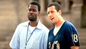 The Longest Yard #2 - Chris Rock as Caretaker and Adam Sandler as Paul Crewe