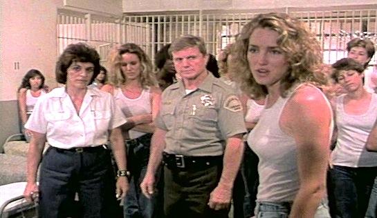 Lust for Freedom - Judi Trevor as Ms Pusker, William J Kulzer as Sheriff Coale and Melanie Coll as Gillian Kaites