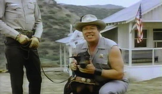 Mean Dog Blues - George Kennedy as Capt Omar Kinsman, with Rattler