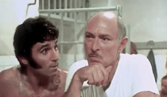 Mean Frank and Crazy Tony - Tony Lo Bianco as Tony Breda and Lee Van Cleef as Frankie Diomede