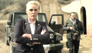 Mercenaries #3 - Brigitte Nielsen as Ulrika and Tim Abell as Grigori Babishkov