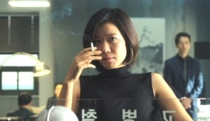 The Merciless #2 - Hye-jin Jeon as police Chief Cheon