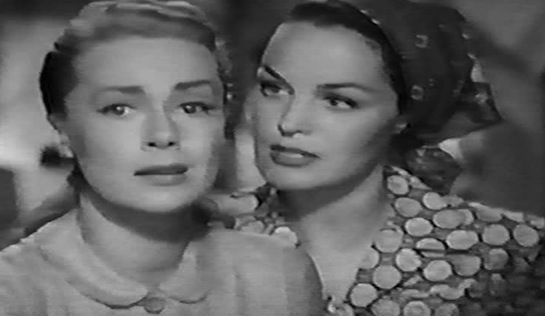 June Havoc as Molly and Dorothy Hart as Anne