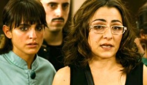 My Prison Yard #7 - Verónica Echegui as Isa and Candela Peña as Mar, chastened at the end of a slightly controversial performance