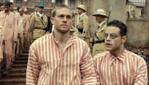Papillon #3 - Charlie Hunnam as Henri 'Papillon' Charrière and Rami Malek as Louis Dega