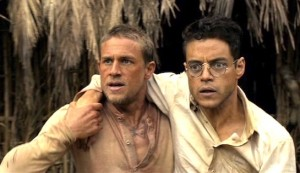 Papillon #6 - Charlie Hunnam as Henri 'Papillon' Charrière and Rami Malek as Louis Dega