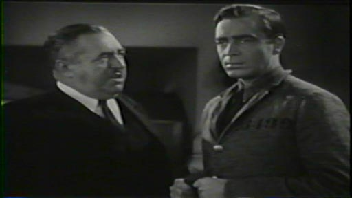 Penitentiary - Warden Tom Mathews (Walter Connolly) and William Jordan (John Howard)