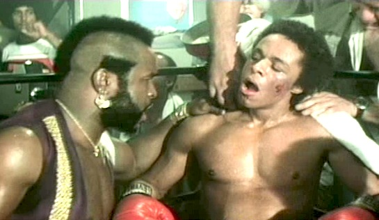 Penitentiary II - Mr T as Mr T, and Leon Isaac Kennedy as Martel 'Too Sweet' Gordone