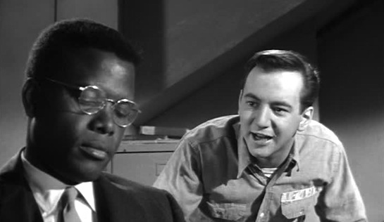 Pressure Point - Sidney Poitier as the psychiatrist and Bobby Darin as the prisoner-patient