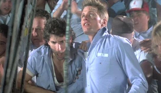 Prison - Ivan Kane as Joe 'Lasagna' Lazzaro and Viggo Mortensen as Burke