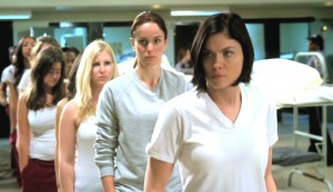 Prison Break: The Final Break #3 - Jodi Lyn O'Keefe as Gretchen Morgan, followed by Sarah Wayne Callies as Dr Sara Tancredi