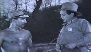 Prison Fram #2 - Lloyd Nolan as Larry Harrison and J Carrol Naish as Noel Haskins