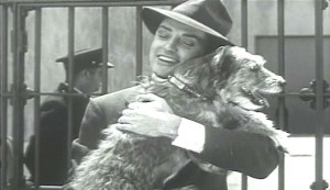 Prison Shadows #4 - Eddie Nugent as Gene Harris, reunited with his dog, Babe