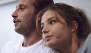 Racer and the Jailbird #5 - Matthias Schoenaerts as Gino ('Gigi') Vanoirbeek and Adèle Exarchopoulos as Bénédicte ('Bibi') Delhany