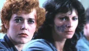 Red Heat #2 - Sylvia Kristel as Sofia and Dagmar Schwarz as Lillian (with ball-point pen facial tattoo)