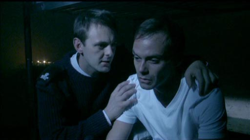 Release - Garry Summers as Martn and Daniel Brocklebank as Fr Jack Gillie