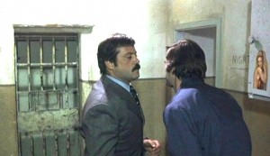 Revolver #3 - Oliver Reed as Vito Cipriani and Fabio Testi as Milo Ruiz: stomach, meet fist