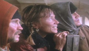 Runaway Train - Jon Voigt as Oscar 'Manny' Mannheim, Rebecca DeMornay as Sara and Eric Roberts as Buck McGeehy