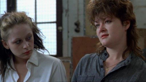 Scrubbers - Chrissie Cotterill as Annetta Brady (right)