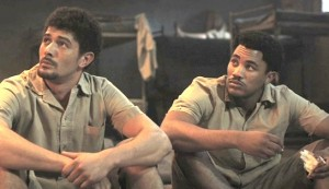 Noem My Skollie #2 - Dann-Jaques Mouton as the older Abraham 'AB' Lonzi and Gantane Kusch as the older Richard 'Gimba' Carelse