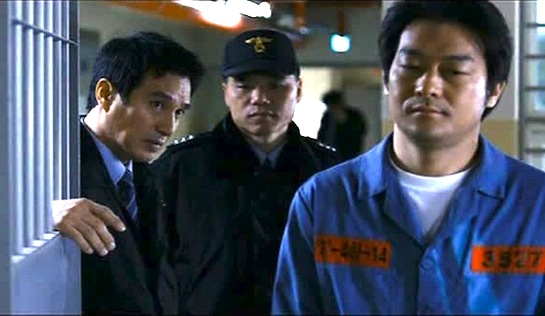 The Executioner - Officer Jong Ho (jo Jae Hyeon) with serial killer Chang