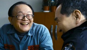 The Executioner #3 - Kim Jae Geon as 'Shrimp Eyes' Lee Seong Hwan and Park In Hwan as Officer KIm Gyo Wi