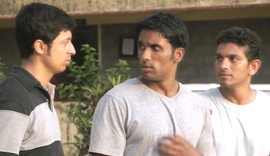 The Plan - Shreeram as Chetan, Koustubh Jayakumar as Ajay, and Hemanth as Bhaskar