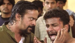The Plan #2 - Harish Roy as Harish Anna (left), with an unknown tormentee