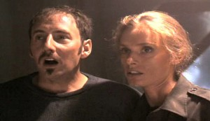 Timelock #3 - Arye Gross as Jack Riley and Maryam d'Abo as Jessie Teegs