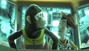 Toy Story 3 #4 - The Monkey and Woody