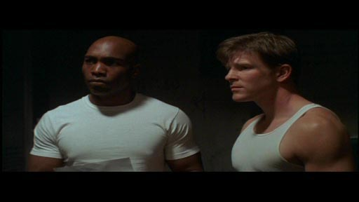 Unshackled - James Black as Marcus 'Doc' Odomes and Burgess Jenkins as Harold Miller