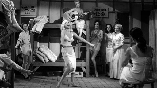 Untamed Youth - with Mamie Van Doren up front as Penny Lowe
