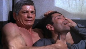 The Valachi Papers #2 - Charles Bronson as Joe Valachi deals with a small problem in the prison shower block