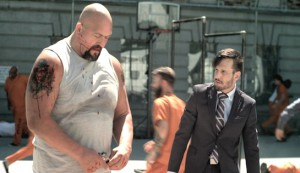 Vendetta #1 - Paul 'The Big Show' Wight as Victor Abbott and Michael Eklund as Warden Snyder