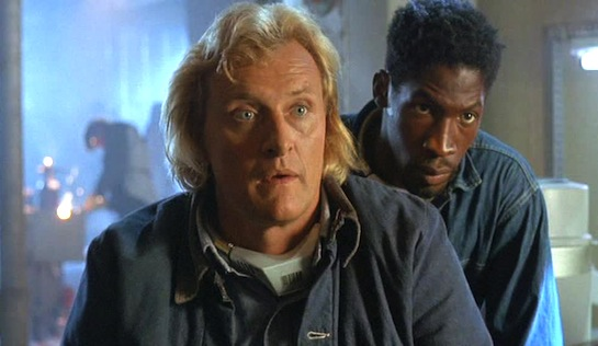 Wedlock - Rutger Hauer as Frank Warren (Magenta) and Glenn Plummer as Teal