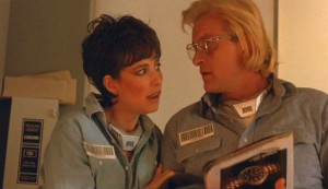 Wedlock #3 - Mimi Rogers as Tracy Riggs (Ivory) and Rutger Hauer as Frank Warren (Magenta)