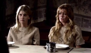 House of Whipcord #2 - on the right, Penny Irving as Anne-Marie de Verney
