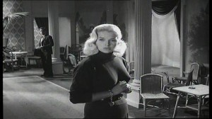 Yield to teh Night #2 - Diana Dors as Mary Hilton, with Michael Craig as Jim Lancaster in background